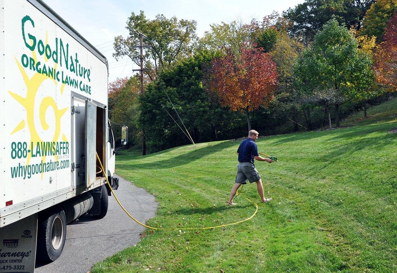 Alec Spray Truck