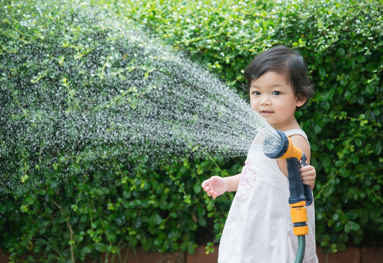 Girl Sprinkler