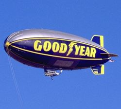 Good Year Blimp - Akron