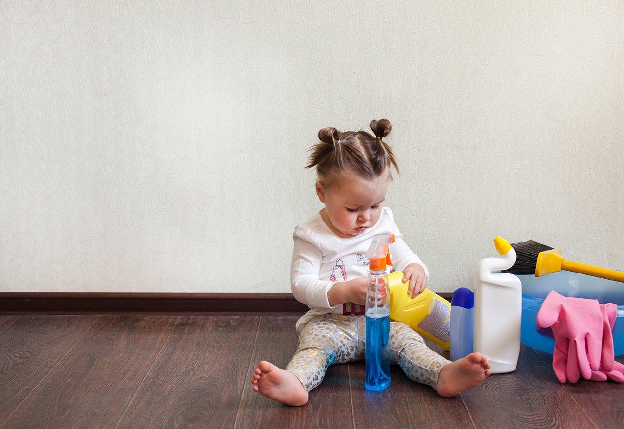 Home Hazardous Chemicals Child