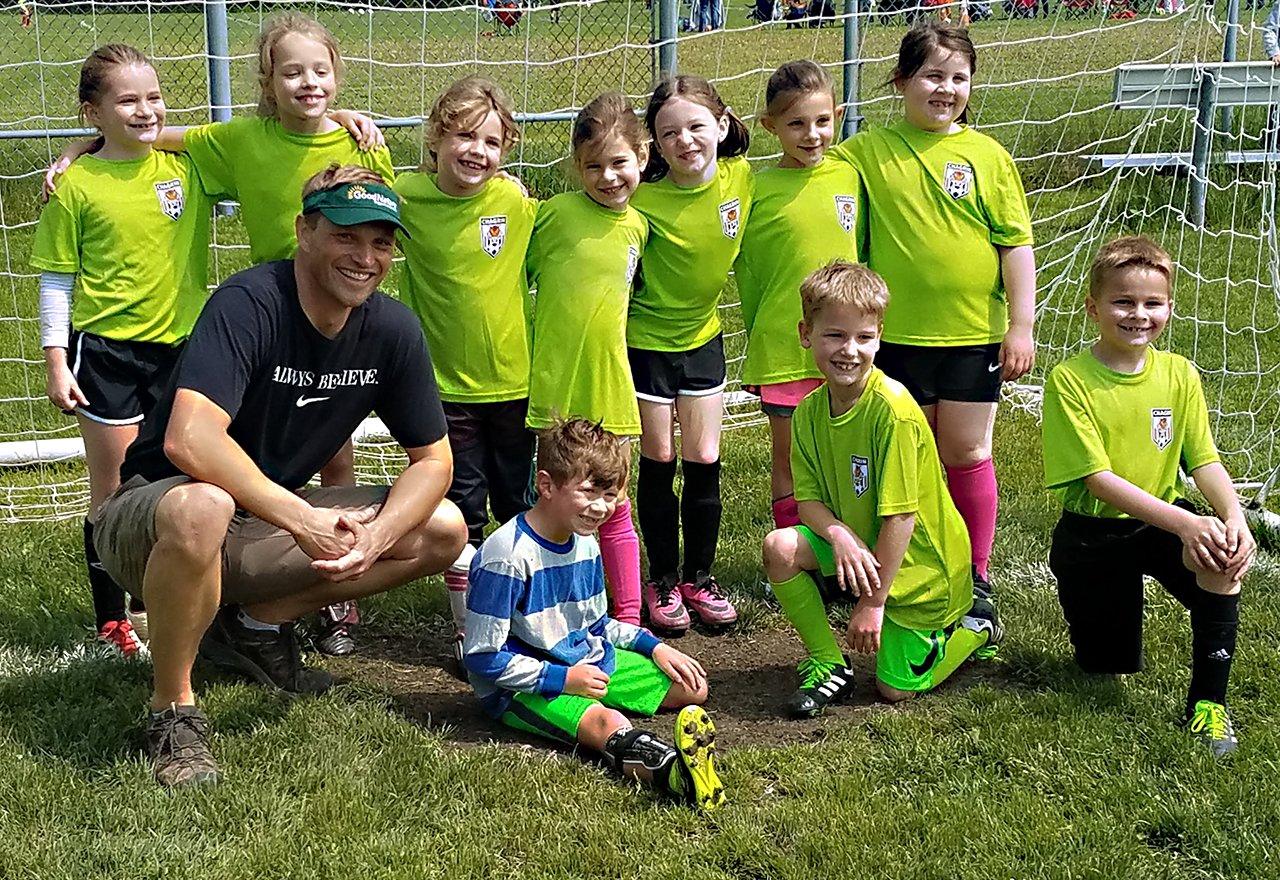 Kids Alec Soccer Team Field