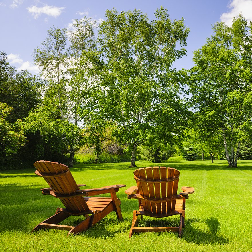 Lawn Chairs Square