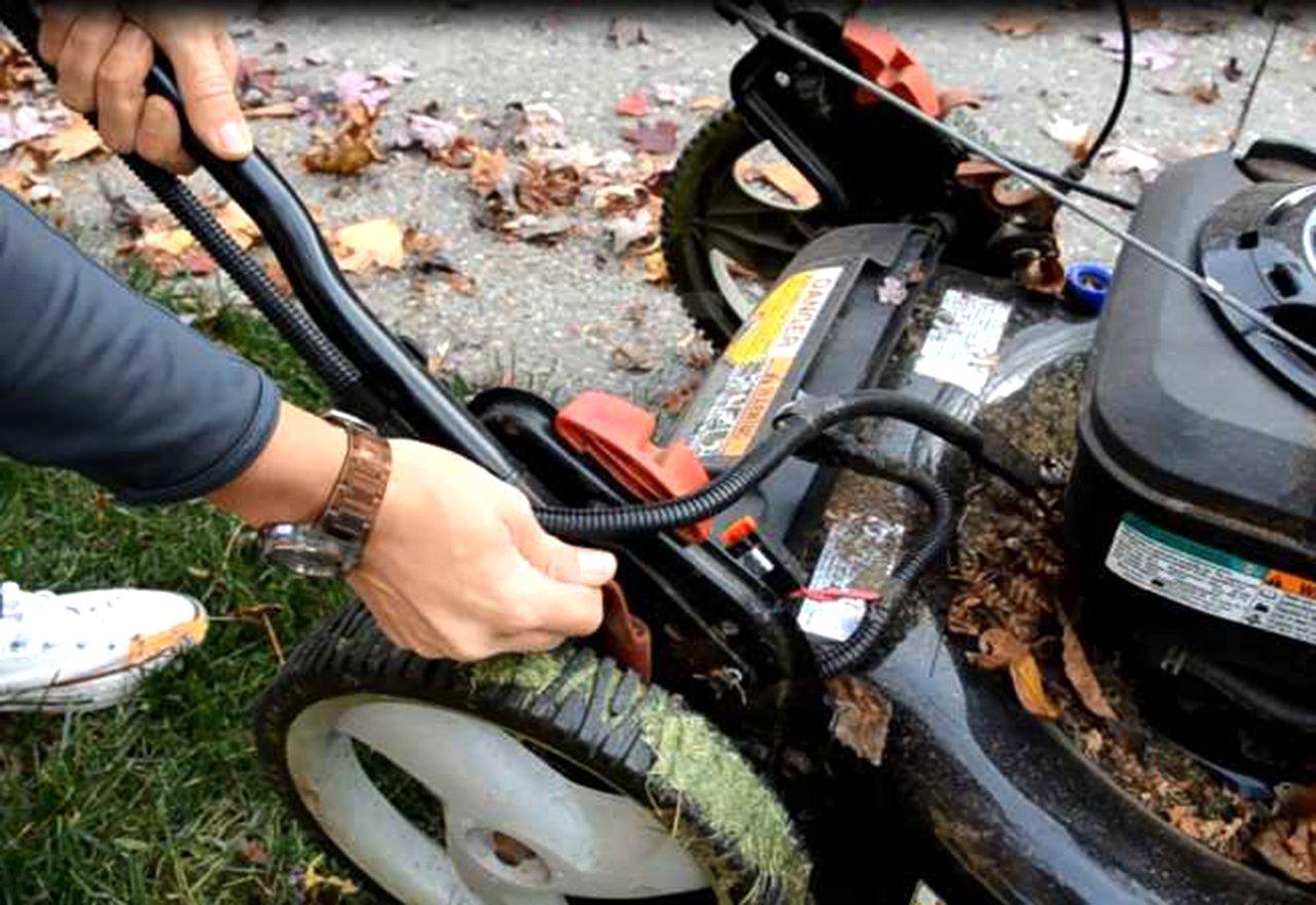 Lower Mower Back Wheels